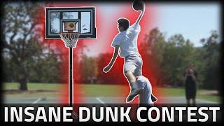 CRAZY DUNK CONTEST! Video