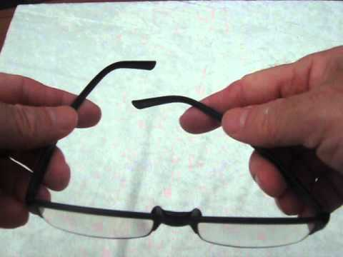 56d917a875 Zax Tr90 memory plastic reading glasses - YouTube