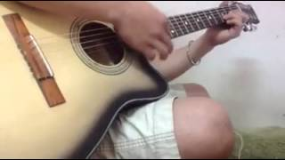 lang nhin em hanh phuc guitar