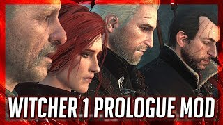 The Witcher 1 Prologue Remastered in Witcher 3 (Witcher 3 Mod)
