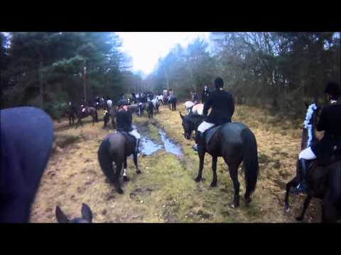 SC & RMA Sandhurst drag hunt