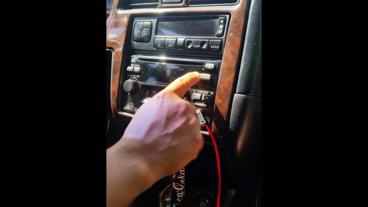 small resolution of nissan maxima pathfinder infiniti qx4 g20 j30 radio bose cd player auxiliary in