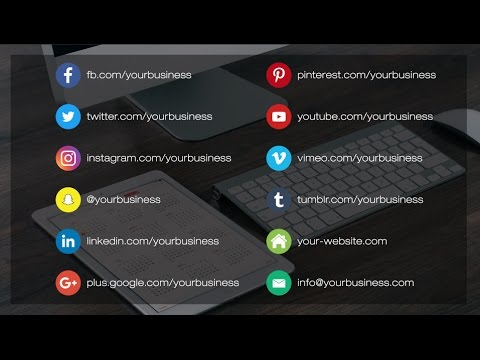 Circle Burst Social Media Lower Thirds - After Effects Template ...