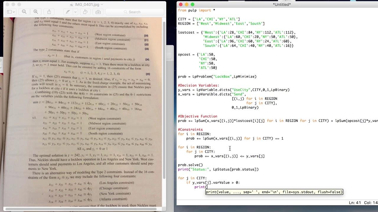 PART 2: Lockbox Problem in Python - YouTube