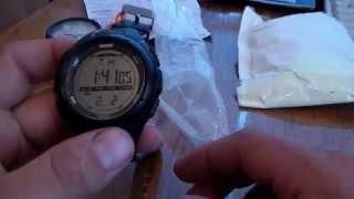 Военные часы SKMEI и манометр для измерения давления в шинах.