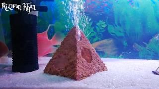 Красиві руху повітря акваріум іграшки.6