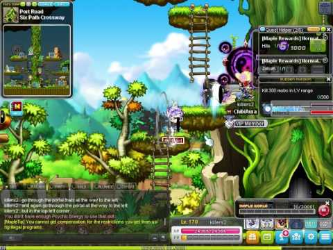 How To Get To Gold Beach Maplestory (training spot) - YouTube