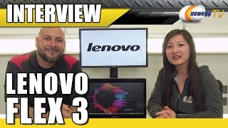 Lenovo Flex 3 Interview - Newegg TV