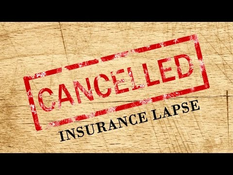 What to do when your car insurance lapses