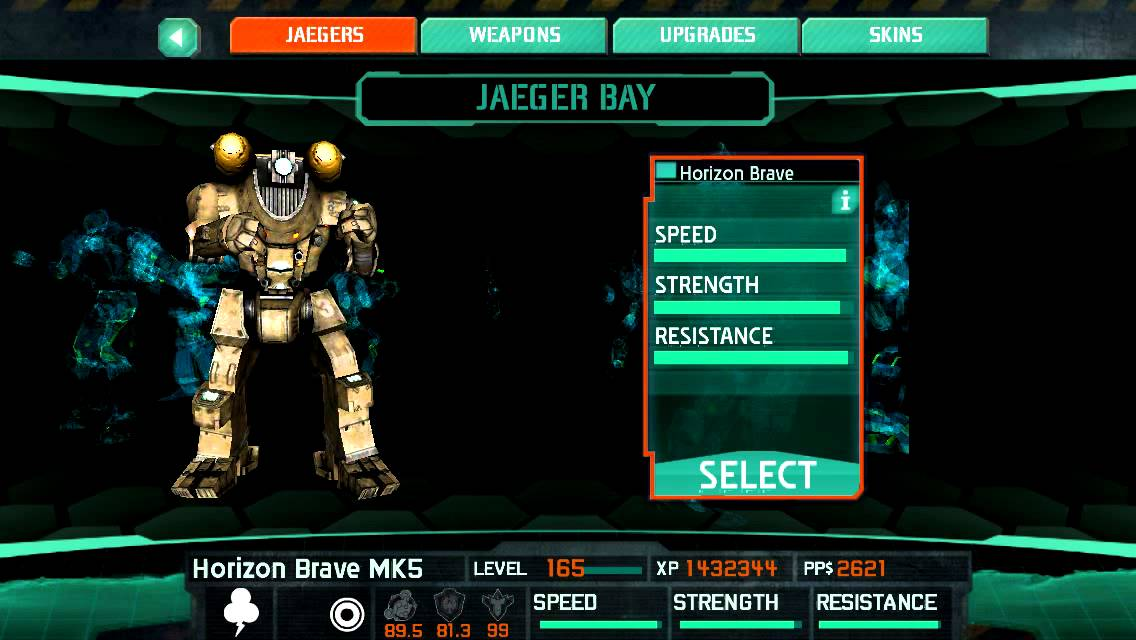 Pacific Rim iOS - Max Stats for Every Jaeger - YouTube Pacific Rim Jaeger Stats