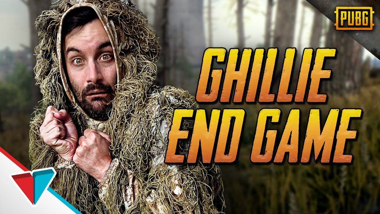 Hiding in the final circle in PUBG - Ghillie End Game