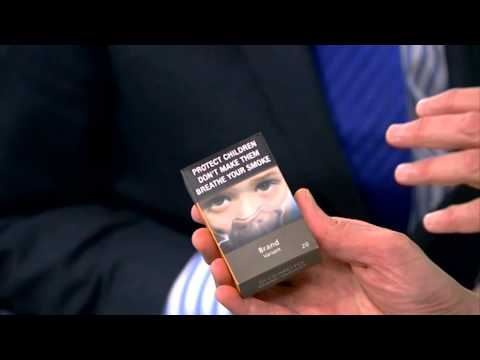 What will plain cigarette packaging look like?