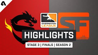 Shanghai Dragons vs. San Francisco Shock | Stage 3 Finals - Overwatch League Highlights S2