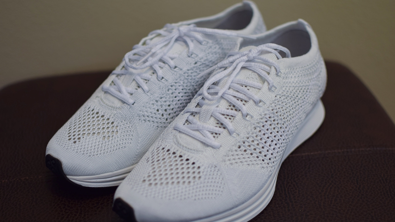 official photos 1940c 45c9d ... inexpensive nike triple white flyknit racer unboxing first impressions  youtube 06693 491c5