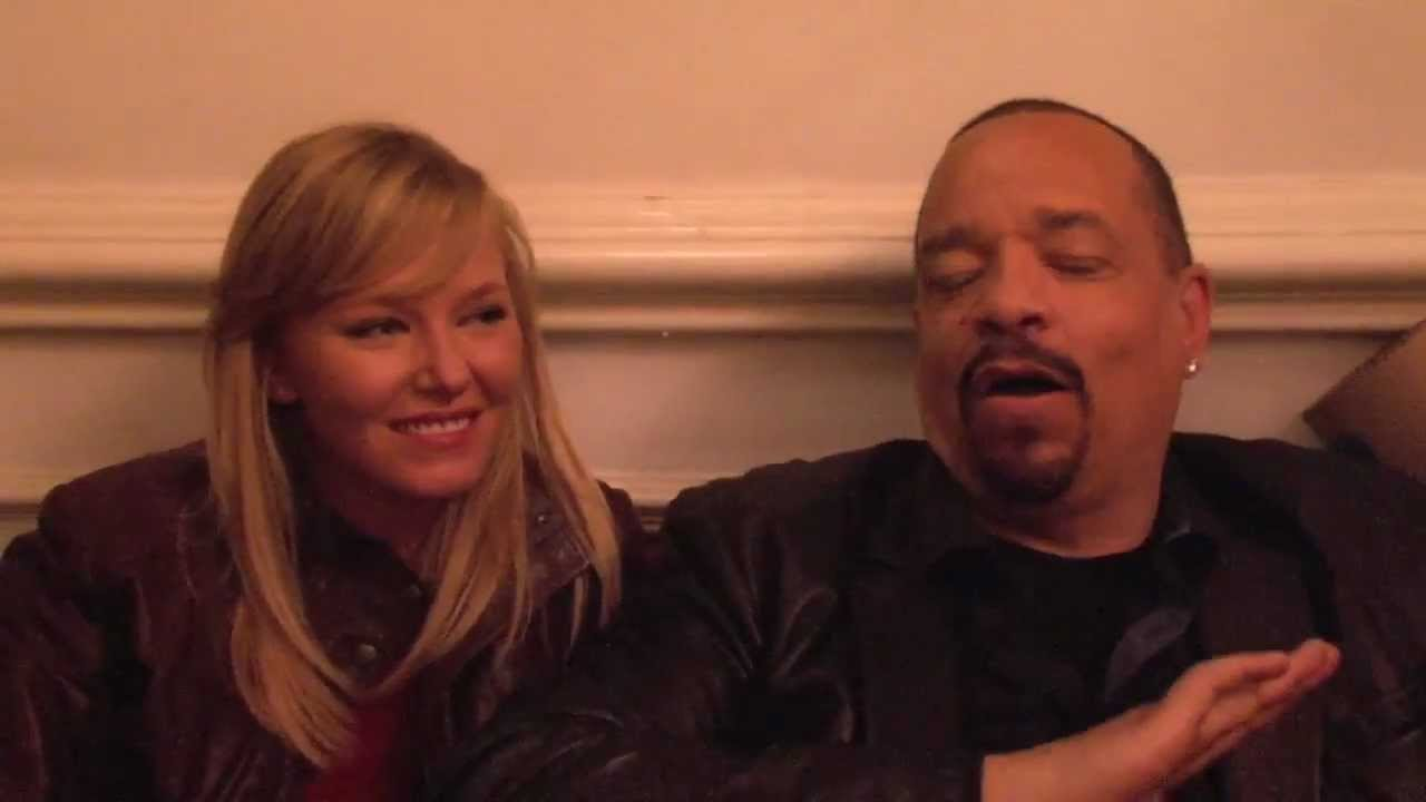 Ice-T and Kelli Giddish on Their First Season as Partners - YouTube