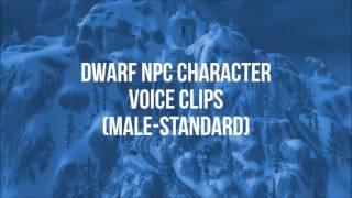 World of Warcraft - All Dwarf NPC Quotes (Male & Female)