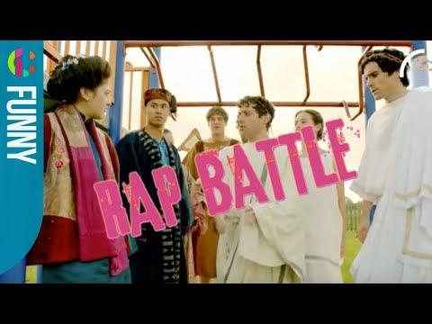 Ancient Greek vs Chinese RAP Battle!!! | Horrible Histories