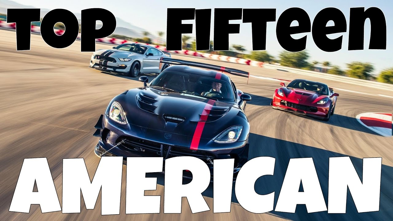 15 Best AMERICAN Cars On Gran Turismo 6 [HSG Select] - YouTube