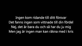 Kent - Krossa allt [lyrics]
