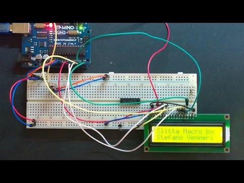 DIY - Slitta Macro Motorizzata con Arduino