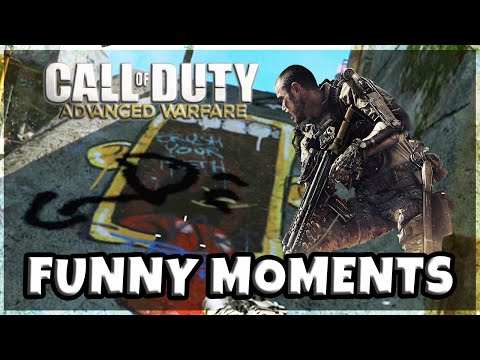 Call of Duty Advanced Warfare Funny Moments | Kickemm Karaoke | Epic Fail Cam | Hot Hands