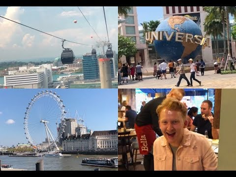 ♡ Maddie's Travels - Universal Studios and my first day in London ♡