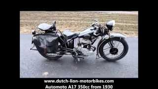 Automoto A17 350cc from 1930