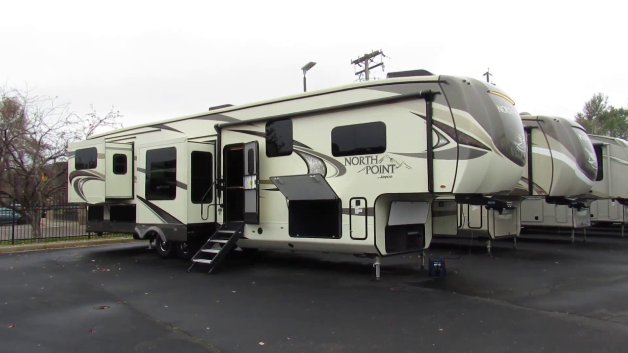 North Point Rv >> 2018 Jayco North Point 387rdfs New Luxury Fifth Wheel For Sale
