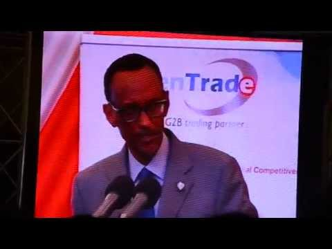 KenTrade TV:President Kagame at Launch of Kenya TradeNet System