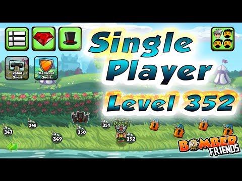 Bomber Friends - Single Player Level 352 ✔️