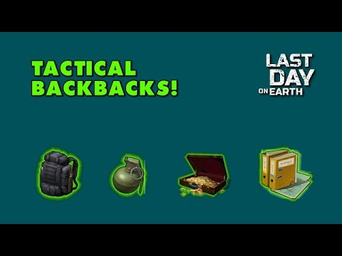 Tactical Backpack Giveaway! Last Day on Earth