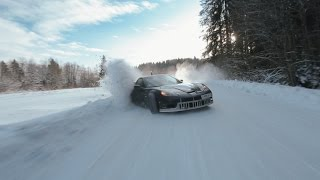 �������� ���� Crazy winter drift, Russia. Part 1 ������