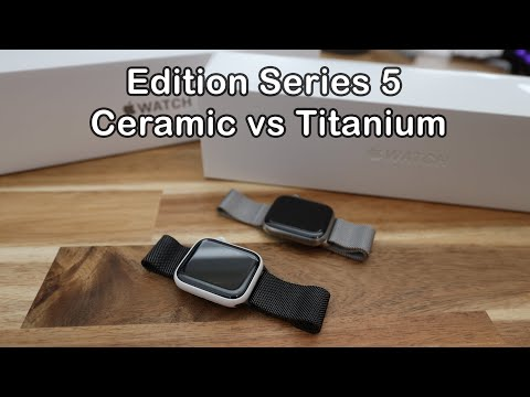 apple-watch-edition-series-5-ceramic-&-titanium-unboxing-and-first-look