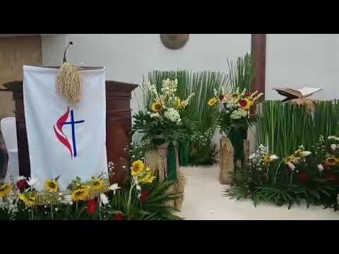dekorasi natal di gereja - youtube