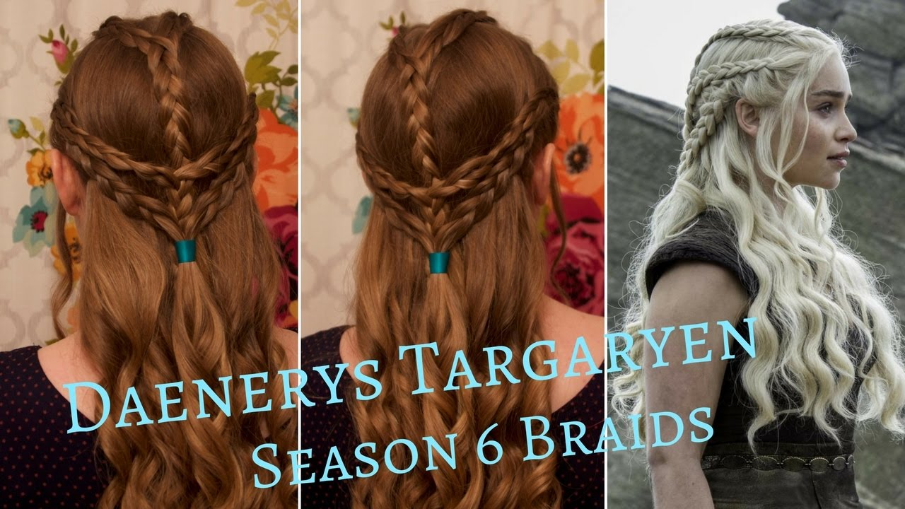 Mother Of Dragons Braids Fashion Dresses