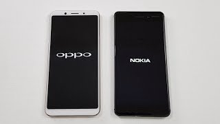 Oppo F5 vs Nokia 6 SPEED TEST | WHICH IS FASTER