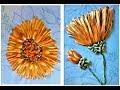 Поделки - Венок.Вышивка лентами.Нолана.2.Embroidery ribbons. Nolana lanceolata.2.