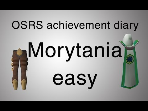 [OSRS] Morytania easy diary guide