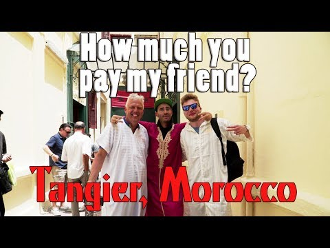 Apparently I'm wanted in Morocco | Tangier Morocco Day Trip