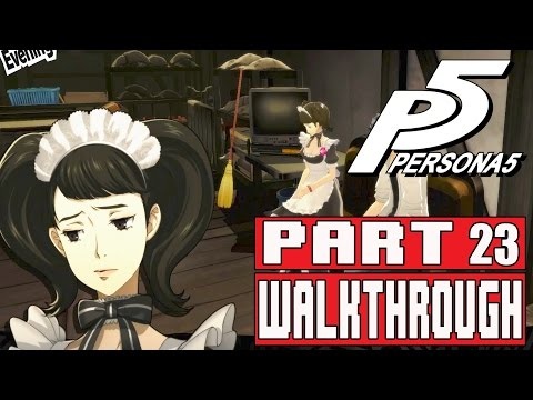 Persona 5 Gameplay Walkthrough Part 23 Kawakami Time, Yoshida Lessons, Mementos Lessons