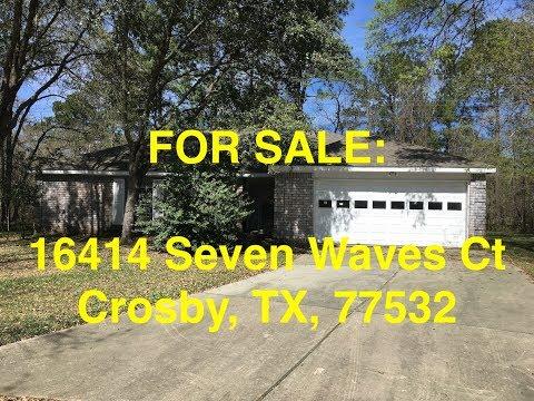 Crosby HUD Homes -- HUD King Tours 16414 Seven Waves Ct