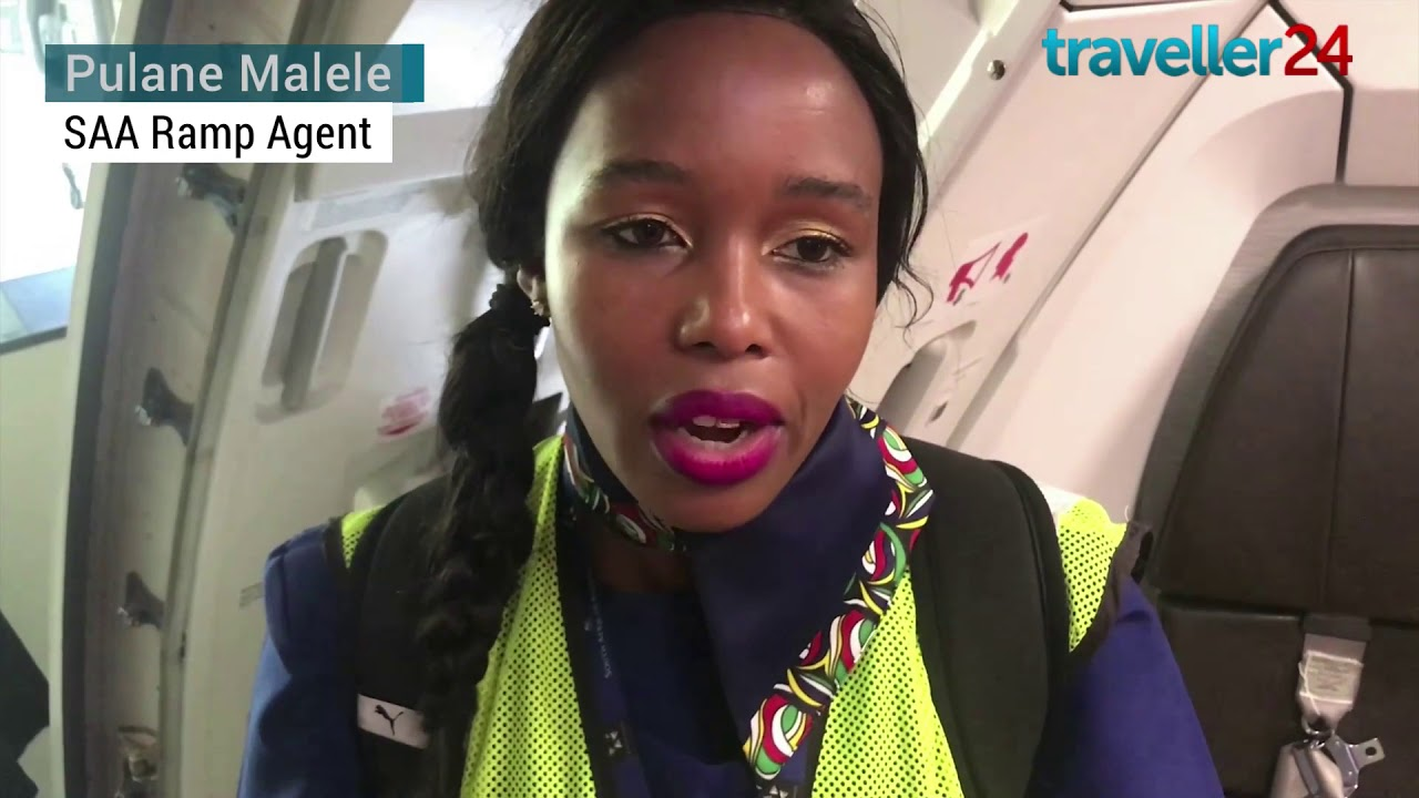 SAA Salutes Women's Month With an All female Crew From SA to Brazil   HIRES