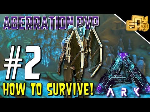 ARK OFFICIAL PVP ABERRATION - S3 EP2 - HOW TO SURVIVE ABERRA