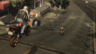 Where is he going? - GTA IV