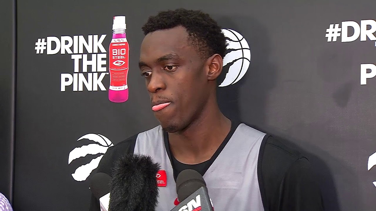Raptors Practice: Pascal Siakam - December 7, 2017 - YouTube