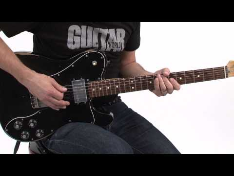 Lick of the Day - Paul Riario -  Eric Johnson Inspired Melodic Climb