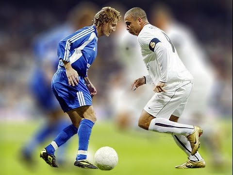 Ronaldo Making Fun Of Salgado