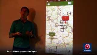 KOMPASS Wander-APP Version 1.0 mit LIVE-Tracking