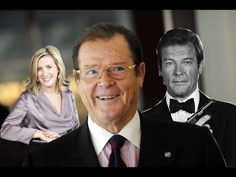 Roger Moore Interview | Ireland AM