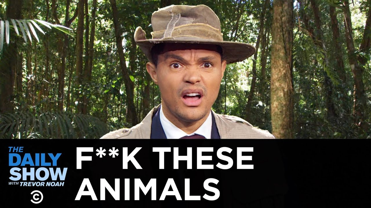 F**k These Animals - Paraglider-Charging Kangaroo & Raging Safari Elephant | The Daily Show